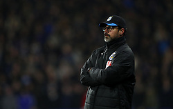Huddersfield Town manager David Wagner on the touchline
