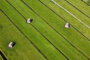 Nederland, Utrecht, Gemeente Maartensdijk (de Bilt), 23-06-2010; Ruigenhoeksche Polder, kazematten (bunkers) behorende bij de 'voorstelling' van het Fort op de Ruigenhoeksedijk, Nieuwe Hollandse Waterlinie..Bunkers belonging to the Fort Ruigenhoek, Waterlinie..luchtfoto (toeslag), aerial photo (additional fee required).foto/photo Siebe Swart