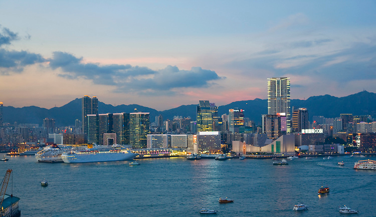The Kowloon waterfront