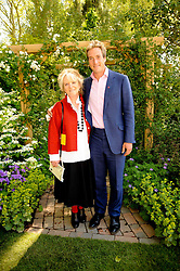 Th 2010 Royal Horticultural Society Chelsea Flower show in the grounds of Royal Hospital Chelsea, London on 24th May 2010.<br /> <br /> Picture shows:- BEN FOGLE and his mother