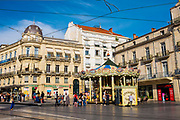 Place de la Comedie, the main square Montpellier, France