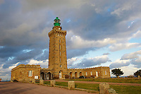 France, Bretagne, Côtes d'Armor (22), le phare du Cap Fréhel // France, Brittany, Cotes d'Armor (22), Cap Frehel lighthouse
