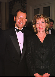 MISS JACQUELINE ALLEN former PA of the late Diana, Princess of Wales and MR PAUL BURRELL former butler to Diana, Princess of Wales, at a dinner in London on 29th September 1998.MKJ 7
