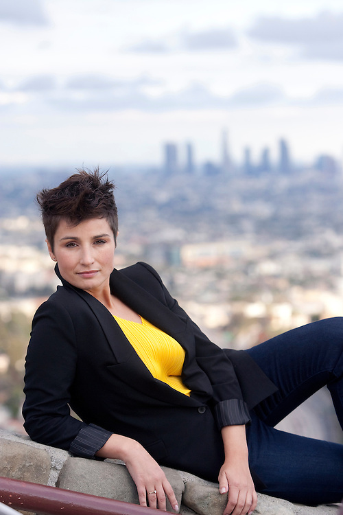 Polish actress Joanna Brodzik takes in the sites around Los Angeles. Please Contact LicensingCompliance@ToddBigelowPhotography.com With Your Licensing Request