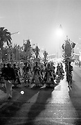 The Parade in Liberdade Avenue is the climax of months of preparation. Bica neighbourhood march was inspired in traditional fishsellers that used to work in the neighbourhood. The Parade is observed by a jury that gives points to each March. usually Bica is classified in the first places.