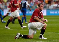 Photo: Daniel Hambury.<br />Manchester United v FC Porto. Amsterdam Tournament. <br />04/08/2006.<br />Manchester's Wayne Rooney.