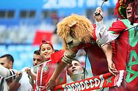 Football - 2018 FIFA World Cup - Group B: Morocco vs. Iran<br /> <br /> Morrocco fans are seen at Krestovsky Stadium, Saint Petersburg.<br /> <br /> COLORSPORT/IAN MACNICOL