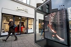 Camper footwear boutique on famous Kurfurstendamm shopping street in Berlin, Germany.