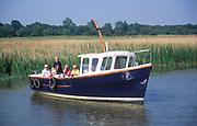 AT5BPF Boat trip River Alde Snape Suffolk England
