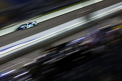 November 16, 2018 - Homestead, Florida, U.S. - Darrell Wallace, Jr (43) takes to the track to qualify for the Ford 400 at Homestead-Miami Speedway in Homestead, Florida. (Credit Image: © Justin R. Noe Asp Inc/ASP)