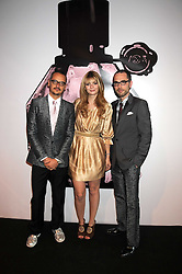 Left to right, designer ROLF SNOEREN, MISCHA BARTON and VIKTOR HORSTING (Designers VIKTOR & ROLF) at the opening of 'The House of Viktor & Rolf' an exhibtion of designs by Viktor & Rolf held at The Barbican Art Gallery, Silk Sytreet, London on 17th June 2008.<br /><br />NON EXCLUSIVE - WORLD RIGHTS