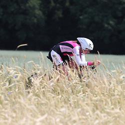 21-06-2017: Wielrennen: NK Tijdrijden: Montferlands-Heerenberg (NED) wielrennen  <br />Tijdrit Junior Vrouwen  <br />Anne de Ruiter (Polsbroek) pakt de titel