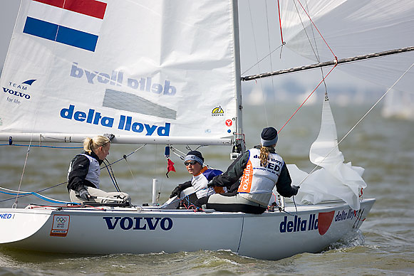 08_002713 © Sander van der Borch. Medemblik - The Netherlands,  May 24th 2008 . Day 4 of the Delta Lloyd Regatta 2008.