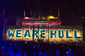 Hull 2017 - Fireworks and Made In Hull Jan 2017