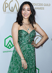 HOLLYWOOD, LOS ANGELES, CALIFORNIA, USA - JANUARY 18: 31st Annual Producers Guild Awards held at the Hollywood Palladium on January 18, 2020 in Hollywood, Los Angeles, California, United States. 18 Jan 2020 Pictured: Constance Wu. Photo credit: Xavier Collin/Image Press Agency/MEGA TheMegaAgency.com +1 888 505 6342
