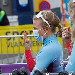 14-04-2021: Wielrennen: Brabantse Pijl women: Overijse: Emilie Moberg