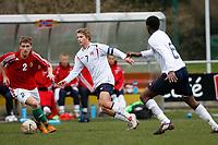 Fotball<br /> Kvalifisering EM U17<br /> 13.03.2008<br /> Norge v Ungarn<br /> Foto: ProShots/Digitalsport<br /> NORWAY ONLY<br /> <br /> Vegar Eggen Hedenstad and Mate Kiss