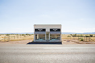 Marfa, TX 10/02/2013<br /> Prada Marfa<br /> Alex Jones / www.alexjonesphoto.com