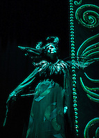 """Ursula Boutwell as """"Carabosse"""" during dress rehearsal for Sleeping Beauty at the Winnipesaukee Playhouse Tuesday afternoon.  (Karen Bobotas/for the Laconia Daily Sun)"""