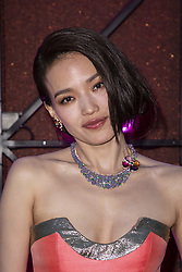Shu Qi attends the Bvgalri Gala Dinner held at the Stadio dei Marmi in Rome, Italy on June 28, 2018. Photo by Marco Piovanotto/ABACAPRESS.COM