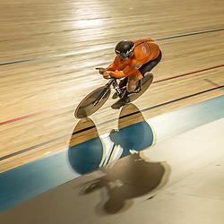 APELDOORN (NED) EUROPEAN TRACK CHAMPIONSHIPS, 19th August<br /> Daan Kool European Champion Men U23 at the kilometer