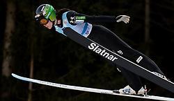 February 7, 2019 - Ljubno, Savinjska, Slovenia - Ursa Bogataj of Slovenia competes on qualification day of the FIS Ski Jumping World Cup Ladies Ljubno on February 7, 2019 in Ljubno, Slovenia. (Credit Image: © Rok Rakun/Pacific Press via ZUMA Wire)