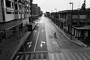 L' Estramurale Capruzzi durante la quarantena dovuta all'emergenza sanitaria Covid19. Bari 13 Aprile 2020. Christian Mantuano / OneShot