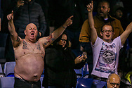 Sheffield Wednesday fans during the The FA Cup 3rd round replay match between Luton Town and Sheffield Wednesday at Kenilworth Road, Luton, England on 15 January 2019.