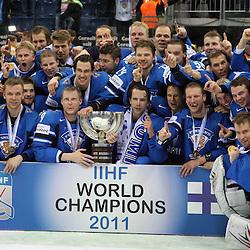 20110515: SVK, Ice Hockey - IIHF 2011 World Championship Slovakia, Finals, Sweden vs Finland