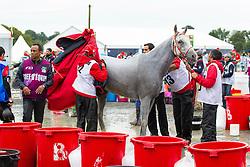 HH Sh Nasser Bin Hamad Al Khalifa, (BRN), Onirik De Becherel - Endurance - Alltech FEI World Equestrian Games™ 2014 - Normandy, France.<br /> © Hippo Foto Team - Leanjo de Koster<br /> 25/06/14