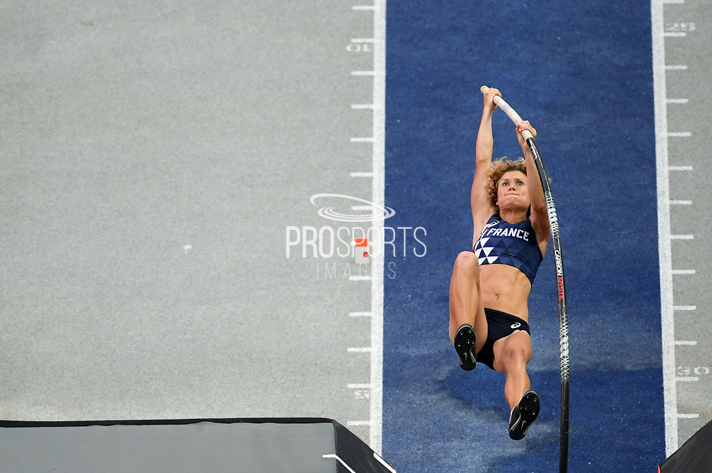 Marion Lotout competes in woemn pole vault during the European Championships 2018, at Olympic Stadium in Berlin, Germany, Day 1, on August 7, 2018 - Photo Philippe Millereau / KMSP / ProSportsImages / DPPI