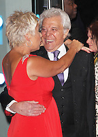 Denise Welch; Lionel Blair, Run For Your Wife - World Film Premiere, Odeon Cinema Leicester Square, London UK, 05 February 2013, (Photo by Richard Goldschmidt)