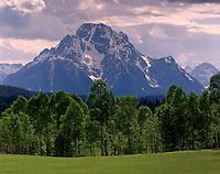 Mount Moran, Grand Teton National Park, Wyoming USA