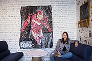 Stephanie Young of Riva Negotiations poses for a portrait at Riva Negotiations in Palo Alto, California, on November 15, 2018. (Stan Olszewski for Silicon Valley Business Journal)