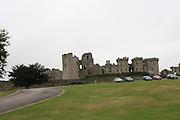 United Kingdom, Wales, Monmouthshire Raglan Castle