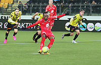 Fotball , 9. desember 2020 , Eliteserien , Srart - Brann <br /> Daouda Bamba , Brann på staffespark