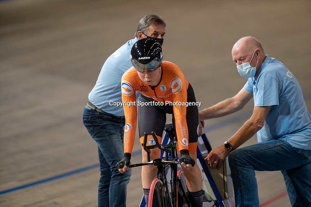 APELDOORN (NED) EUROPEAN TRACK CHAMPIONSHIPS, 17th August<br /> Lonneke Uneken finished sixth in the women's under-23 qualifying pursuit.