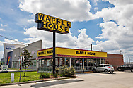 Waffle House in Kennar Lousiaina only serving take out now due to the   coronavirus pandemic.