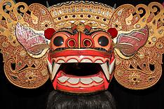Balinese Barong and Rangda Masks, Ubud, Bali