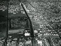 1940 Aerial photo of Wilshire Blvd. & Fairfax Ave.