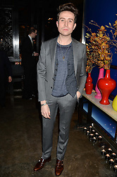 NICK GRIMSHAW at a dinner hosted by Anya Hindmarch and Dylan Jones to celebrate the end London Collections: Men 2014 held at Hakkasan, 8 Hanway Place, London on 8th January 2014.