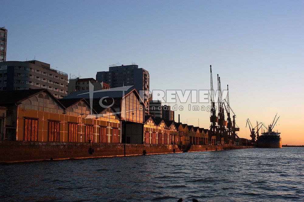 Antigo cais do porto situado na Av. Mauá no centro de Porto Alegre. FOTO: Jefferson Bernardes/Preview.com
