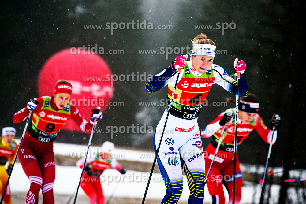 Linn Svahn (SWE) during Ladies team sprint race at FIS Cross Country World Cup Planica 2019, on December 22, 2019 at Planica, Slovenia. Photo By Peter Podobnik / Sportida