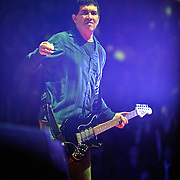 WASHINGTON, DC - November 11th, 2011 - Fomer Nirvana guitarist Pat Smear performs with the Foo Fighters at the Verizon Center in Washington, D.C. The show was the band's first area appearance behind their 2010 album Wasting Light.  (Photo by Kyle Gustafson/For The Washington Post)
