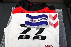 Captains armband for Tomas Kalas of Bristol City - Rogan/JMP - 21/11/2020 - Ashton Gate Stadium - Bristol, England - Bristol City v Derby County - Sky Bet Championship.