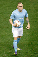 Malmo´s Eriksson during Champions League soccer match between Atletico de Madrid and Malmo at Vicente Calderon stadium in Madrid, Spain. October 22, 2014. (ALTERPHOTOS/Victor Blanco)