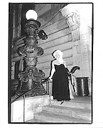 Linda Young, Black and White Balll, New York Public Library© Copyright Photograph by Dafydd Jones 66 Stockwell Park Rd. London SW9 0DA Tel 020 7733 0108 www.dafjones.com