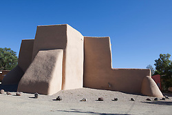 San Francisco de Asis Mission Church in Rancho de Taos