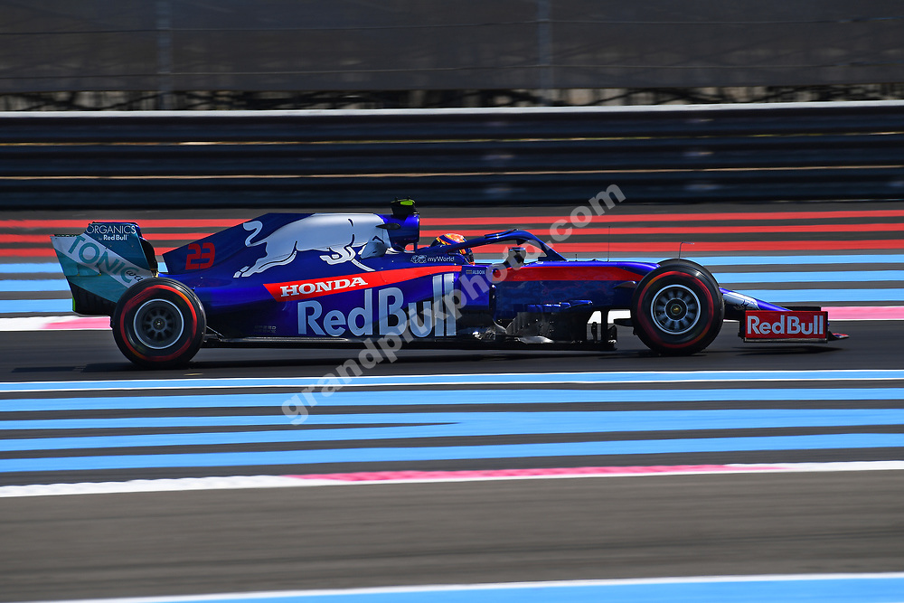 Alexander Albon (Toro Rosso.-Honda) during practice for the 2019 French Grand Prix at Paul Ricard. Photo: Grand Prix Photo