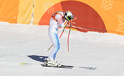February 17, 2018 - PyeongChang, South Korea -  LINDSEY VONN of USA during Alpine Skiing: Ladies Super-G at Jeongseon Alpine Centre at the 2018 Pyeongchang Winter Olympic Games. (Credit Image: © Patrice Lapointe via ZUMA Wire)